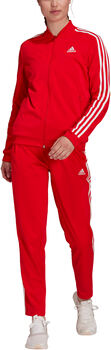 adidas Essentials 3-Stripes Trainingspak Dames Rood