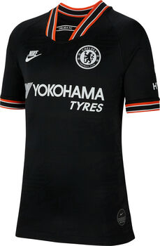 Nike Chelsea FC Stadium shirt 2019-2020 Jongens Zwart