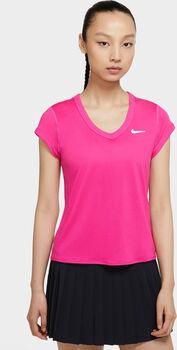 Nike Court Dry shirt Dames Roze