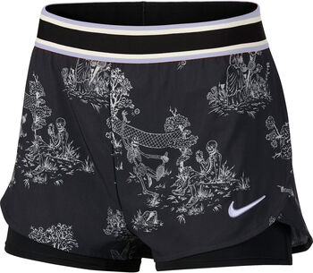Nike Court Flex short Zwart