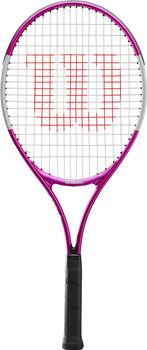 Wilson Ultra Pink 25 tennisracket Kids Meisjes Wit