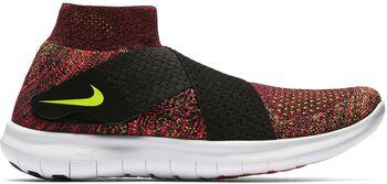 Nike Free RN Motion Flyknit hardloopschoenen Dames Zwart