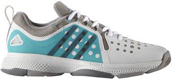 Adidas Barricade Classic Bounce tennisschoenen Dames Wit