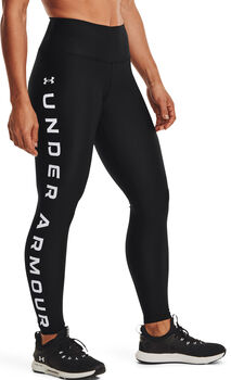 Under Armour HeatGear® Armour Branded legging Dames Zwart