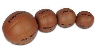 tunturi medicine ball synthetic leather 2kg