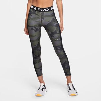 Nike 7/8 Camo tight Dames Grijs
