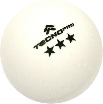 TECNOPRO Tafeltennisballen Wit