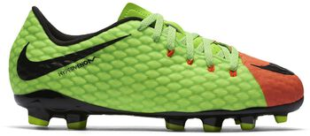Nike Hypervenom Phelon III FG jr voetbalschoenen Groen