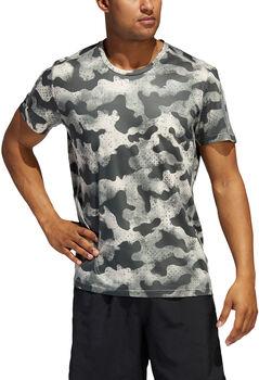 adidas Own the Run Urban Camo T-shirt Heren Groen
