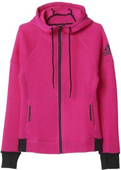 Adidas Daybreaker Mesh hoodie Dames Zwart