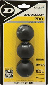 Dunlop Pro Blister squashballen Geel