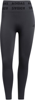 adidas Training Aeroknit 7/8 High-Rise legging Dames Grijs