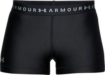 Under Armour HeatGear short Dames Zwart