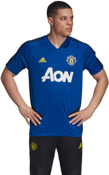 ADIDAS Manchester United FC Training shirt Heren Blauw