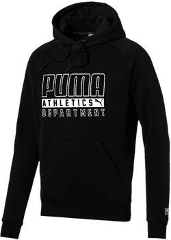 Puma Style Pocket hoodie Heren Zwart