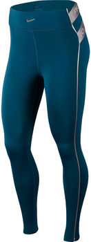 Nike Pro Hyperwarm tight Dames Turquoise