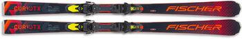 Fischer RC4 The Curv DTX ski's Heren Zwart