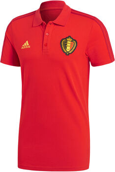ADIDAS België 3-stripes polo Heren Rood