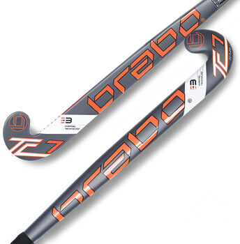 Brabo G-Force TC-7 hockeystick Jongens Zwart
