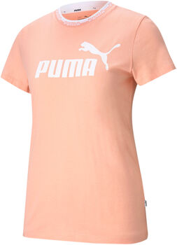 Puma Amplified Graphic shirt Dames Roze