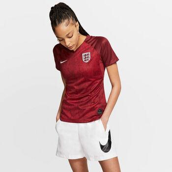 Nike Engeland Breathe Stadium shirt Dames Rood