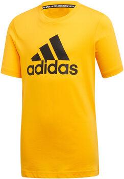ADIDAS Badge Of Sport shirt Geel