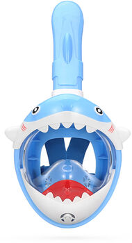 Atlantis kids shark blue snorkelmasker Blauw