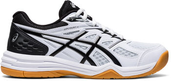 Asics Upcourt 4 GS indoorschoenen kids Jongens Wit