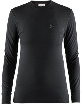 Craft Warm Comfort LS shirt Dames Zwart