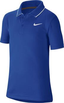 NikeCourt Dri-FIT kids t-shirt Jongens Blauw