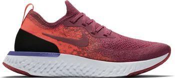 Nike Epic React Flyknit hardloopschoenen Dames Rood