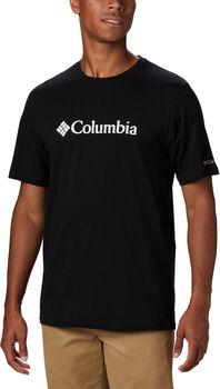 Columbia Basic Logo shirt Heren Zwart