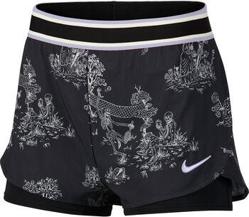Nike Court Flex short Zwart