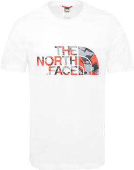The North Face Extent II Logo shirt Heren Wit