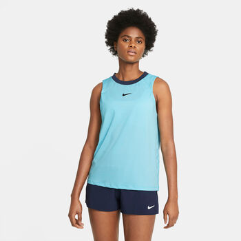 Nike Court Advantage top Dames Blauw
