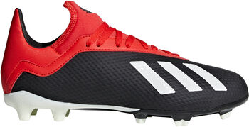 ADIDAS X 18.3 FG Jr voetbalschoenen Zwart