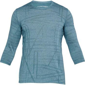 Under Armour UA Threadborne Utility shirt Heren Blauw