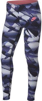 Nike Favorite tight Meisjes Blauw