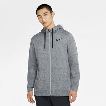 Nike Therma Fleece Full-Zip hoodie Heren Grijs