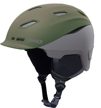 Sinner Moonstone skihelm Heren Groen