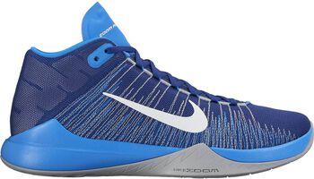 Nike Zoom Ascention basketbalschoenen Heren Blauw