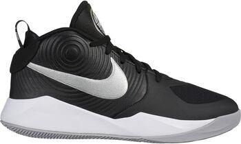 Nike Team Hustle D 9 basketbalschoenen Zwart