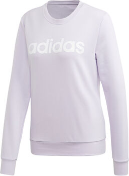 ADIDAS Essentials Linear sweater Dames Paars