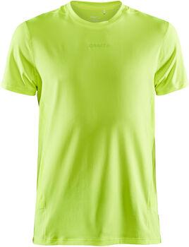 Craft ADV Essence SS Tee M shirt Heren Geel