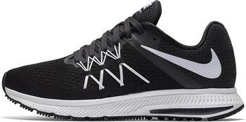 Nike Air Zoom Winflo 3 hardloopschoenen Dames Zwart