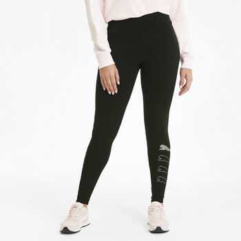 Puma Rebel tight Dames Zwart