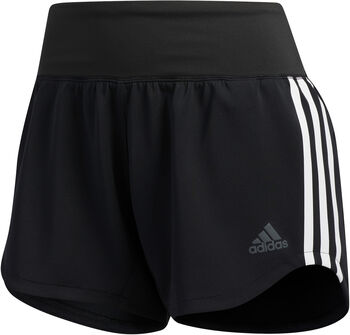 ADIDAS 3-Stripes Woven Gym short Dames Zwart
