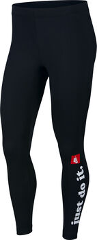 Nike Sportswear Club tight Dames Zwart