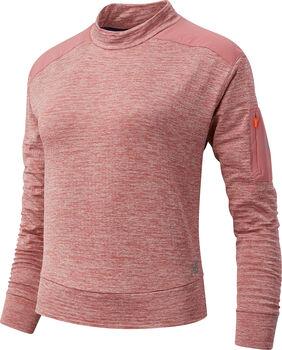 New Balance Heat Grid Long Sleeve shirt Dames Rood