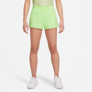 Nike Court Dri-FIT Victory kids short Meisjes Groen